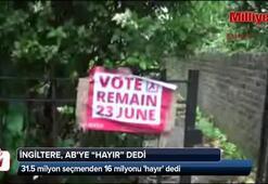 İngiltere, ABye hayır dedi