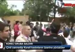 Sultanahmette Koreli gruba saldırı