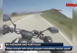 Bu kazadan sağ kurtuldu