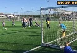 İlk gol ilk heyecan