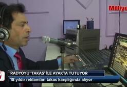 Radyosunu Takas ile ayakta tutuyor