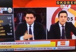 GS TV spikeri çıldırdı
