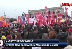 Binlerce Alevi Kadıköyde toplandı