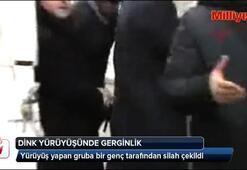 Malatyada Hrant Dink yürüyüşünde gerginlik