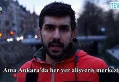 İsveç televizyonundaki Ankaralı genç