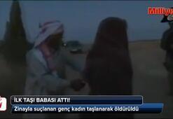 IŞİD genç kadını recm etti