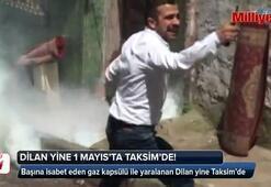 Dilan Alp yeniden Taksimde