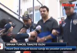 Erhan Tuncel tahliye oldu