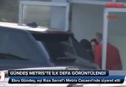 Ebru Gündeş ilk kez Metriste görüntülendi