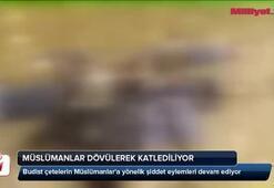 Müslümanlar dövülerek katlediliyor (18+)