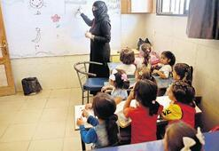 Bombalara inat eğitime devam