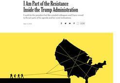 Son dakika: Beyaz Sarayda direniş makalesi, Washingtonda kıyameti kopardı