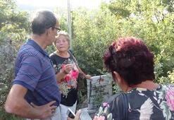 Şehit dedelerinin mezarını 96 yıl sonra buldular