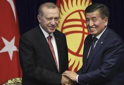 Cumhurbaşkanı Erdoğan'dan Kırgızistan'a FETÖ uyarısı: Bizim yediğimiz darbeyi Kırgızistan yemesin