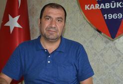 Başkan Aytekin: Kardemir Karabüksporun borcu 160 milyon lira