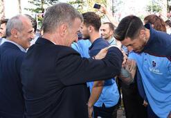Trabzonsporda bayramlaşma töreni
