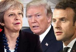 ABD, İngiltere ve Fransadan tehdit Harekete geçeriz...