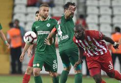 Antalyaspor - Atiker Konyaspor: 3-3