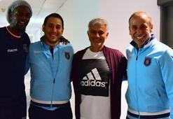 Mourinho, Abdullah Avcı ve Adebayor ile buluştu