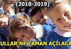 Okullar ne zaman açılacak MEB tarihi açıkladı