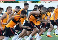 Galatasarayda 3 isim takımla çalıştı