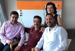 Hastane odasından ilk fotoğraf