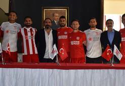 Sivasspor, yeni futbolcularını tanıttı