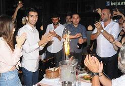 Çağatay Akmanın renkli doğum günü kutlaması
