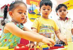 Pırlanta Merkezleri çocukları ağırlıyor