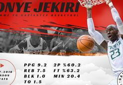 Gaziantep Basketbola Nijeryalı pivot