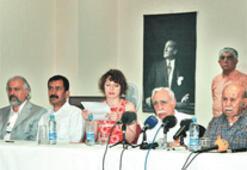 'Kürt sorununa çözüm istiyoruz' mitingi