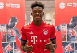 Bayern Münih 17 yaşındaki Alphonso Davies ile anlaştı