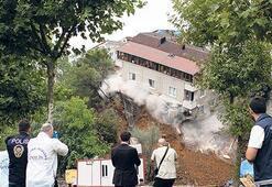 Sütlücede çöken bina sonrası belediyeden açıklama