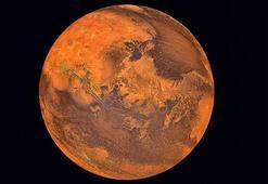 Marsta yeraltı gölü bulundu