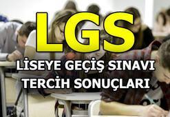 LGS tercih sonuçları ne zaman açıklanacak MEB duyurdu...(2018)