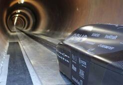 SpaceXin Hyperloop yarışmasında saatte 467 kilometre hıza ulaşıldı