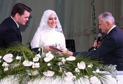 TBMM Başkanı Yıldırım nikah şahidi oldu