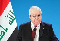 Irakın Kürt Cumhurbaşkanı çözüm için devrede