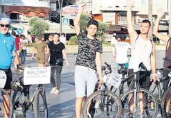 Bisikletçiler, hakları için pedal çevirdi