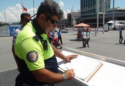 Taksim Meydanında duygulandıran anlar