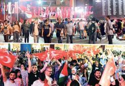 Taksim Meydanı'nda 15 Temmuz nöbeti