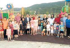Başkan Uçak Alaşehirli çocuklara sahip çıkıyor Oyun parklarında kameralı önlem