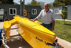 Yerli insansız deniz aracı geliştirdiler