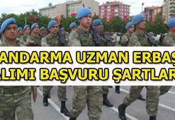 Jandarma Uzman Erbaş alımı başvuru şartları 2018 Uzman Erbaş başvuruları