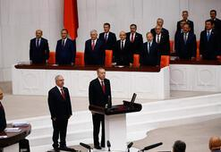 Tarihi an Erdoğan yemin etti, yeni sistem başladı