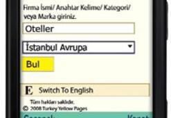 Yerel arama motoru Yellow Pages Türkiye'de