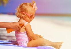 Güneş yanıkları çocuklarda cilt kanseri riskini arttırır
