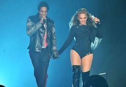 Beyonceye sahnede kurtarma operasyonu