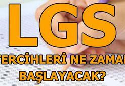 LGS tercihleri hangi tarihte başlayacak İşte 2018 LGS tercih kılavuzu...