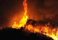 ABDde ünlülerin evleri yandı
